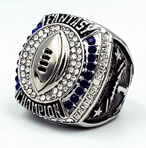 2019 FFL Champion Ring - SILVER / Silver Fantasy Football 2019 Championship Ring