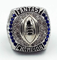 2019 FFL Champion Ring - SILVER / Silver Fantasy Football 2019 Championship Ring