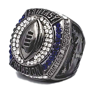 2019 FFL Champion Ring - Gunmetal / Black Chrome Fantasy Football 2019 Championship Ring