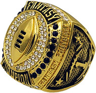 2019 FFL Champion Ring - GOLD / Gold Fantasy Football 2019 Championship Ring