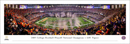 2019 CFP Championship Panorama Print - Unframed