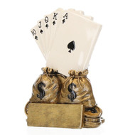 Poker Champion Trophy | Texas Hold 'em Award - 6""