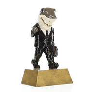 Sales Shark Trophy | Salesperson Success Award - 6""