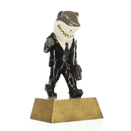 "Sales Shark Trophy | Salesperson Success Award - 6"""