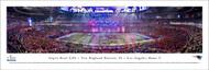 Super Bowl LIII Panorama Print (2019) - Unframed