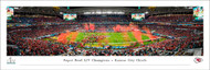 Super Bowl LIV Panorama Print (2020) - Unframed