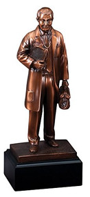 Doctor Trophy | Male Doctor American Hero Award - 11.5 Inch Tall
