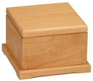 Pet Urn | Laser Engraved Wooden Pet Memorial - 2 sizes