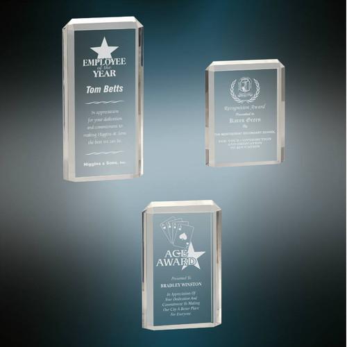 Premier Acrylic Award - Clear