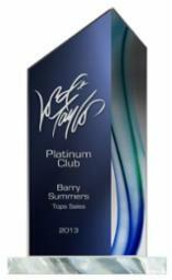 Aqua Series Acrylic Award - 3 sizes
