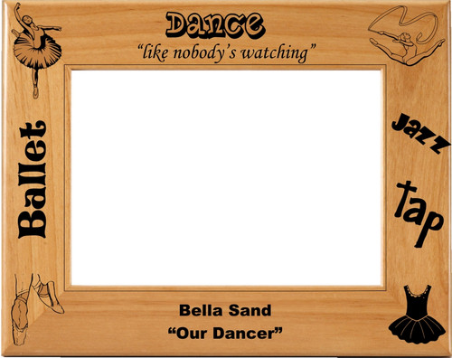 Dance Picture Frame - Personalized