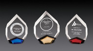 "Marquis Acrylic Award | Faceted Marquis Corporate Award - 8"" & 9"""