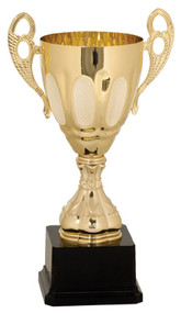 Cup Trophy Metal 700-Series - Gold or Silver | Metal Love Cup Award | 5 Sizes