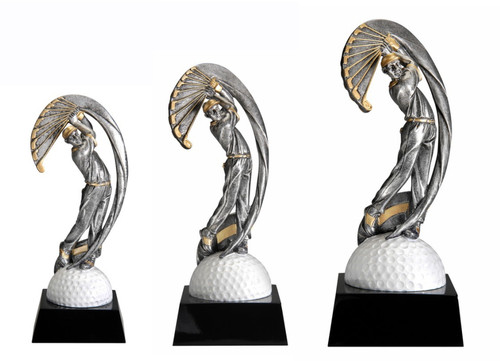 Golf Motion X Trophy - Male  3 sizes available