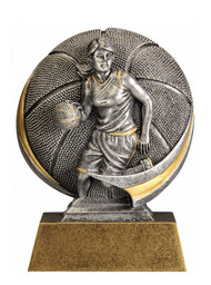 Basketball Motion Extreme 3D Trophy - Male / Female