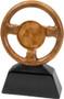 Steering Wheel Trophy | Engraved Racing Award - 7 & 10 Inch Tall