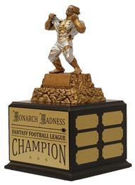 Monster Victory Perpetual Trophy | Engraved Triumphant Beast Champion Perpetual Trophy - 13 Inch Tall