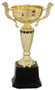 """Cup Trophy - Classic Gold Cup Award with Accent - 10"""" & 14.5"""""""