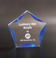 "Acrylic Star Corporate Award - 5"", 6"" & 7"""