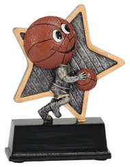 "Basketball Award | Little Pals Basketball Trophy - 5"" CLEARANCE"