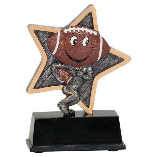"Football Award   Little Pals Football Trophy - 5"" CLEARANCE"