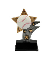 Baseball Sport Star Trophy / Baseball Star Award | 5.5 Inch - Clearance