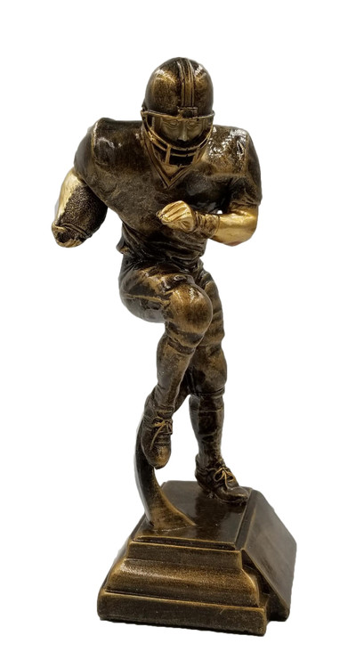 "Football Runner Trophy - 9"" Tall Clearance"