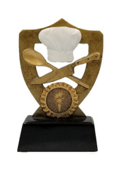 Chef Hat Trophy | Cooking Award - 5 Inch Tall - Clearance