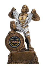 Poker LARGE Monster Trophy | Engraved Poker Winner GIANT BEAST Award - 10 Inch Tall