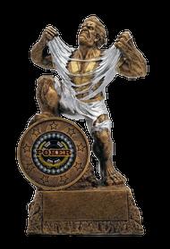 Poker LARGE Monster Trophy | Engraved Poker Winner GIANT BEAST Award - 10 Inch Tall