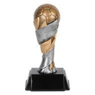 Soccer World Class Trophy | Engraved Soccer Tower Award - 6 and 8 Inch Tall