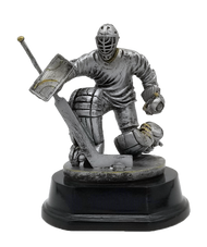 Hockey Goalie Trophy | Engraved Goaltender Award - 6 Inch Tall