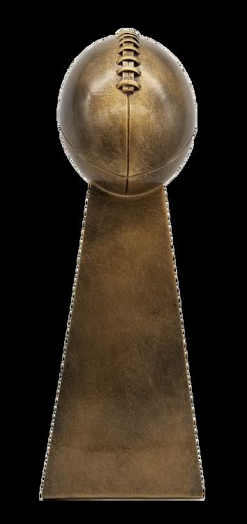 Fantasy Football Champion Gold Tower Trophy   FFL Winner Award - 10.25 or 15 Inch Tall