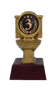 """Gold Toilet Bowl 3rd Place Trophy 
