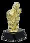 Witch Halloween Trophy | Engraved Pumpkin Queen Award - 7.5 Inch Tall