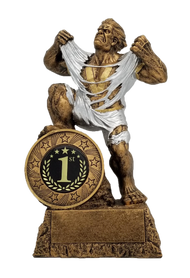 1st Place LARGE Monster Trophy / Engraved First Place GIANT Beast Award - 10 Inch Tall