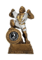 2nd Place LARGE Monster Trophy / Engraved Second Place GIANT Beast Award - 10 Inch Tall
