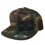 Camo  (Black/Green Patch)