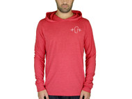 Lightweight Salmon Hooded Long Sleeve