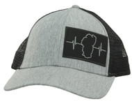 Gray / Black Mesh (Black/Gray Patch)