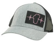 Gray / Black Mesh (Black/Pink Patch)