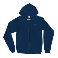 Tahoe Heartbeat Zip Up Hoodie sweater