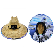 Straw Hat - Snowy Emerald Bay