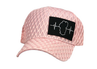 Textured Fabric Pink (Black/White Patch)
