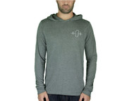 Lightweight Gray Hooded Long Sleeve