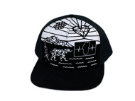 Youth Colorable Bear Hat  / Mesh Back