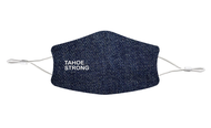 "Denim Print Mask ""Tahoe Strong"""