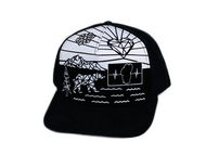 Colorable Bear Hat / Sued Back