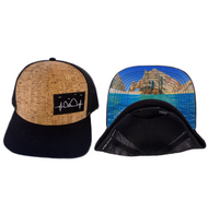 NEW! - Cabo Heartbeat - Black / Cork  / Mesh Back