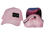NEW! Unisex Athletic Hat / Pink